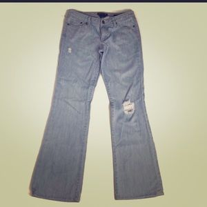 Size 29L Seven Flare Jeans